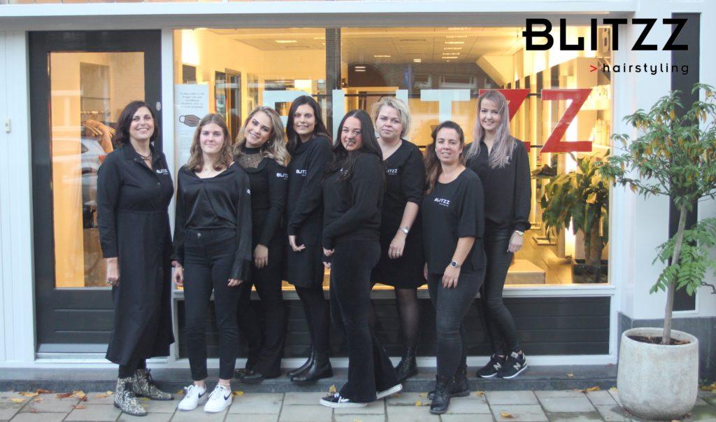 Het team van Hairstyling Blitzz in 2020